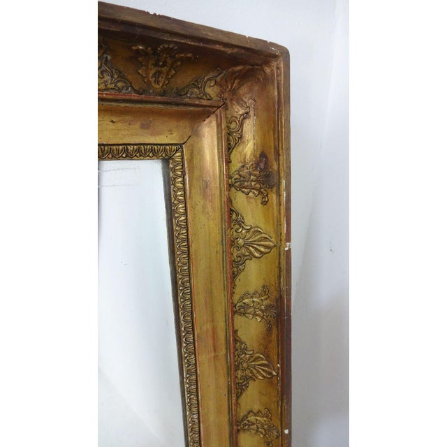 Antique French Gilded Mirror For Sale In New York - Image 6 of 7