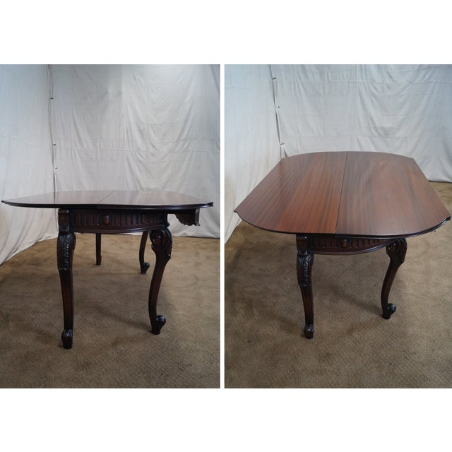 Antique Walnut Console Game Table - Image 10 of 10