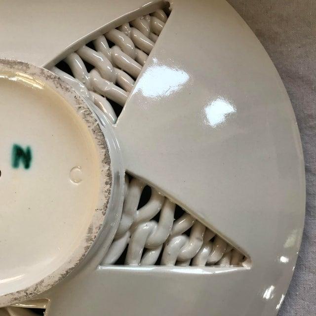1925 Vintage Hand Built Sainte Radegonde Pottery Bowl For Sale - Image 10 of 12