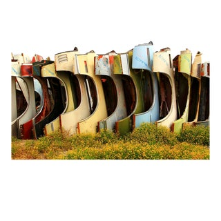 """""""Junkyard Fenders"""" Contemporary Outdoor Still Life Photograph For Sale"""
