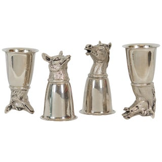 Silver Gucci Stirrup Cups For Sale