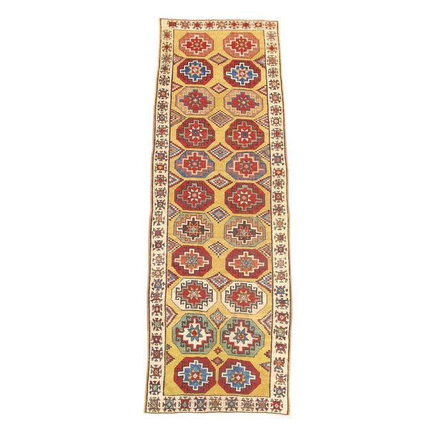 Turkish Konya Runner Rug - 4′1″ × 12′ For Sale
