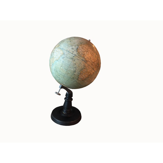 Early 20th Century French Plaster Globe For Sale - Image 10 of 10