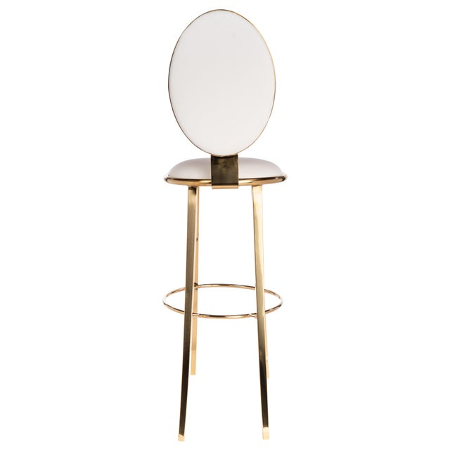 Contemporary Recoleta Bar Chair For Sale - Image 3 of 5