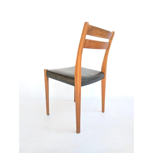 1960s Svegards Markaryd Swedish Modern Teak Dining / Side Chair For Sale In Sacramento - Image 6 of 9