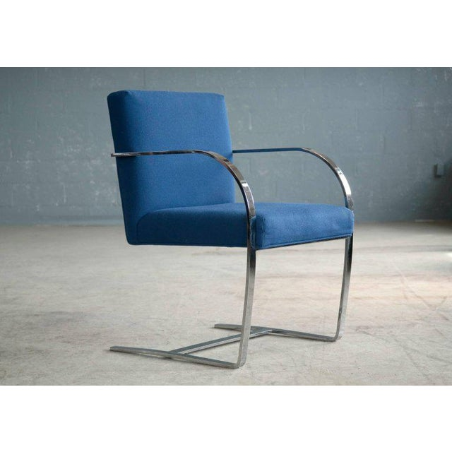 Pair of Brno Style Side Chairs in the Manner of Mies van der Rohe - Image 5 of 10
