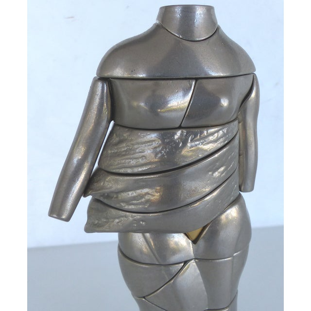 Miguel Ortiz Berrocal Puzzle Sculpture - Image 5 of 8