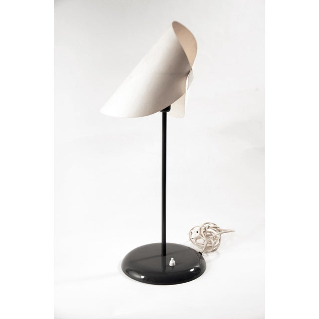 """Minimalism Man Ray """"Lalune"""" Table Lamp For Sale - Image 3 of 5"""