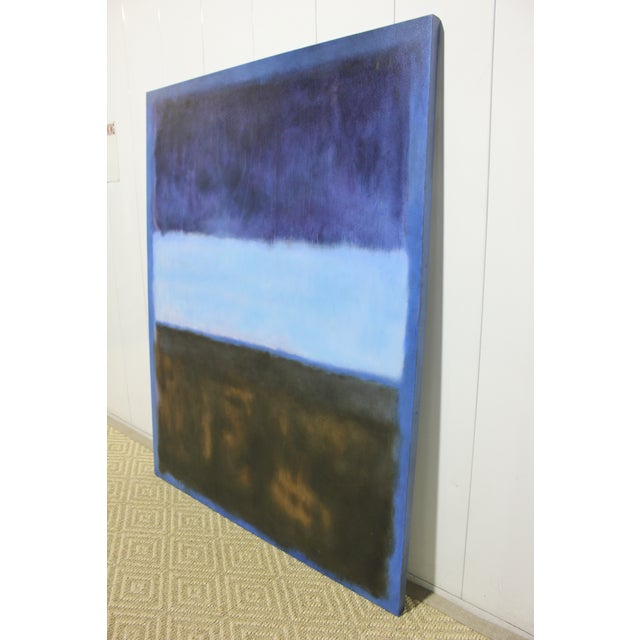 Contemporary Mark Rothko Inspired Painting For Sale - Image 3 of 4