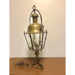 Antique Converted Bronze Street Lantern Preview
