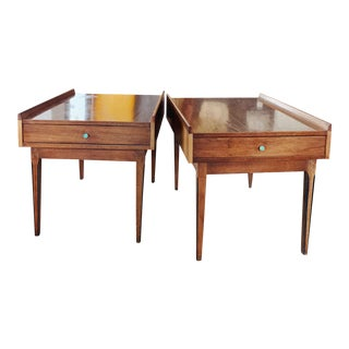1960s Danish Modern Nightstands - a Pair For Sale