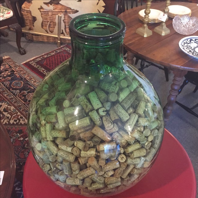 Demijohn Bottle With Corks - Image 3 of 4
