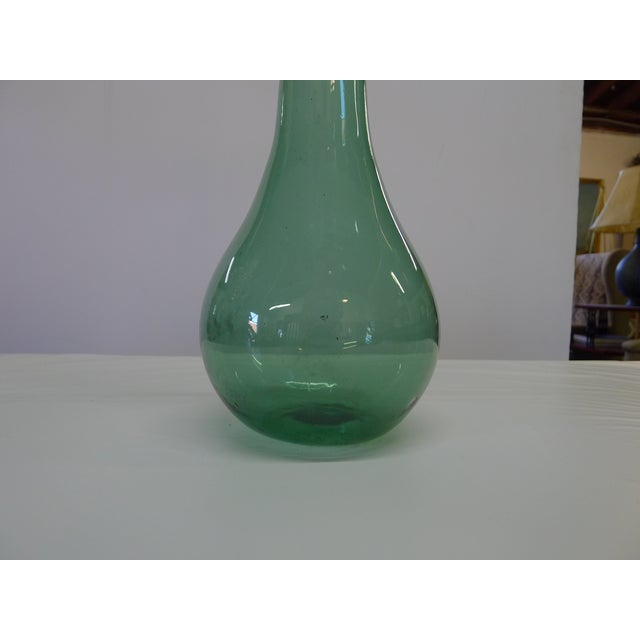 1960s Vintage Blenko Floor Vase For Sale - Image 5 of 10