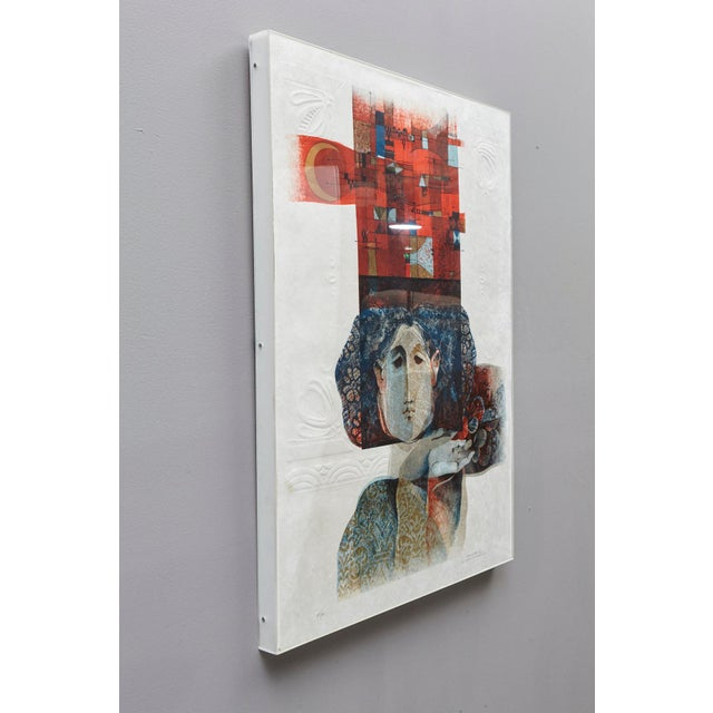 Alvar Sunol Munoz-Ramos, Untitled, Signed and Numbered, # 63/80, 1980 For Sale - Image 11 of 12
