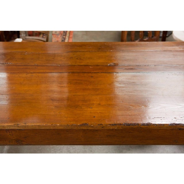 French Fruitwood Farm Table - Image 2 of 6