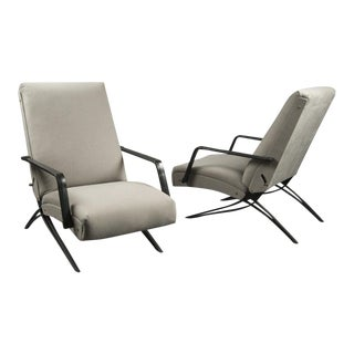 Pair of Gianni Moscatelli for Formanova Recliners For Sale