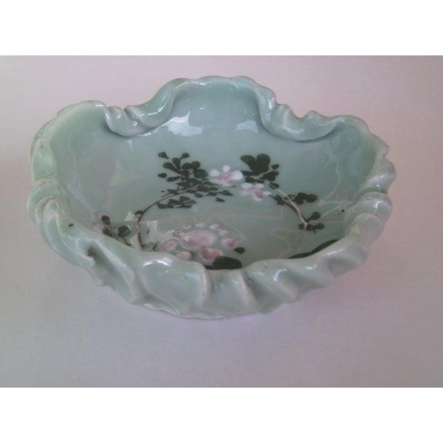 Hand Formed Celadon Bowl - Image 4 of 7