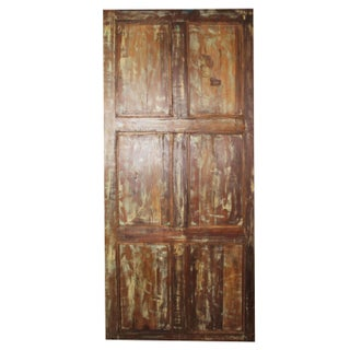 19th Century Vintage Rustic Carved Door Preview
