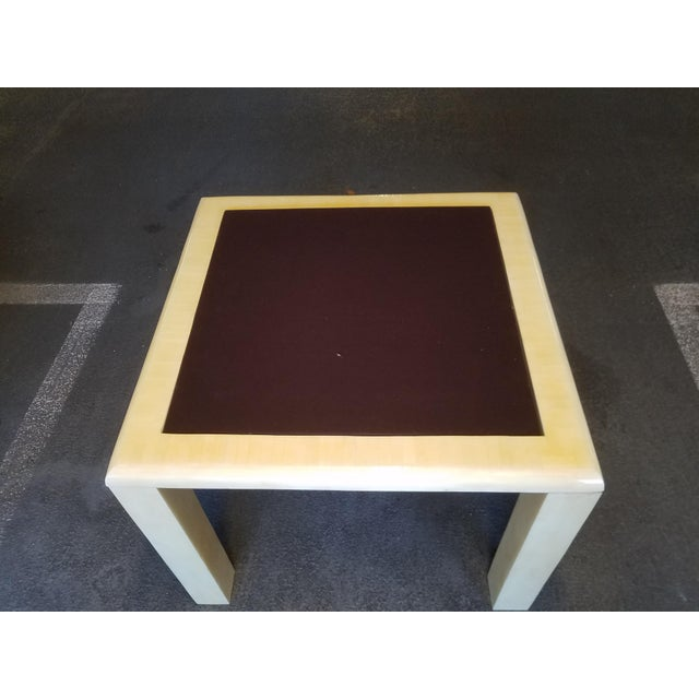1970's Tessellated Bone Gaming Table For Sale In Miami - Image 6 of 12