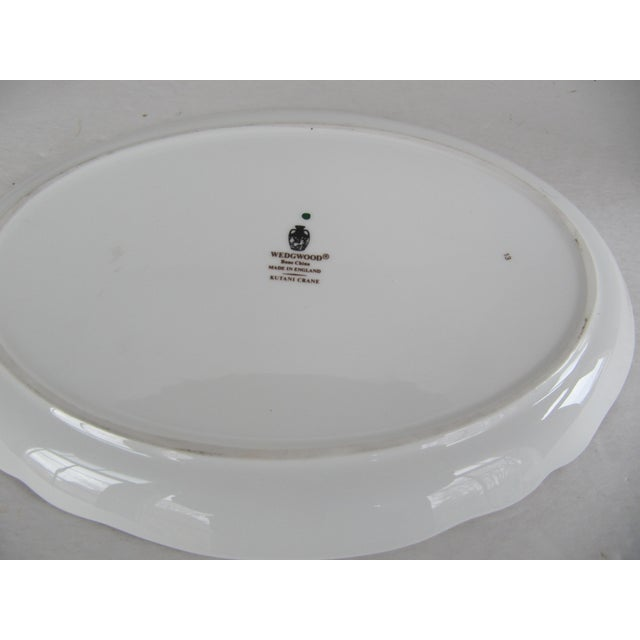 Asian Wedgewood Chinoiserie Oval Platter For Sale - Image 3 of 4