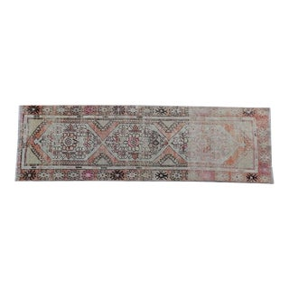 Vintage Turkish Runner - 3″ × 8″