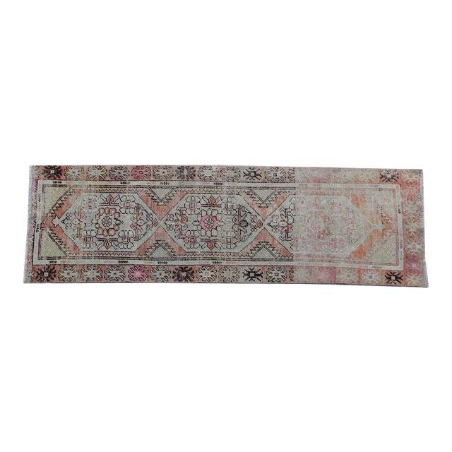 Vintage Turkish Runner - 3″ × 8″ For Sale