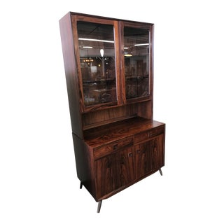 1960s Rosewood Cabinet Designed by Eric Brouer For Sale