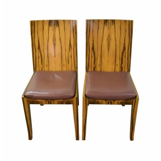 Interior Crafts Mid-Century Modern Rosewood Side Chairs - a Pair Preview