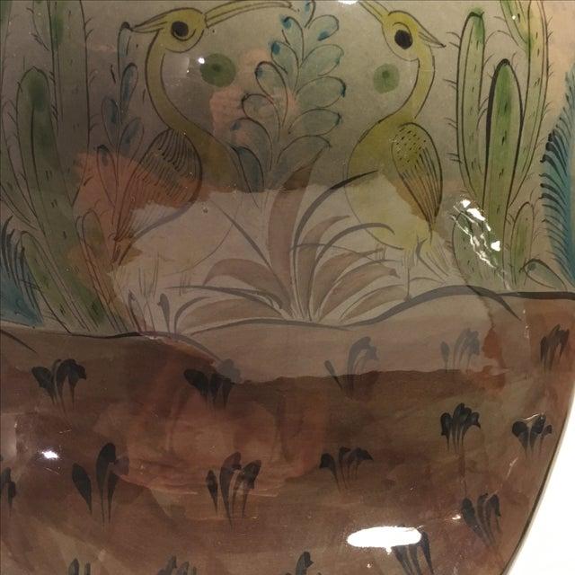 Large Tonala-Style Ceramic Owl - Image 7 of 8