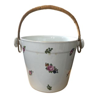 Antique Victorian Era Porcelain Slop Pot/Chamber Pot For Sale