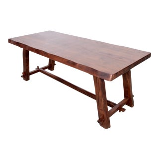Large Dining Table by Olavi Hanninen, Finland, 1959 For Sale