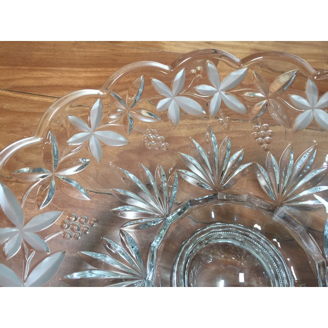 Crystal Centerpiece Bowl - Image 4 of 5
