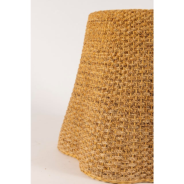 Contemporary Vintage Trompe l'Oeil Rope Table For Sale - Image 3 of 7