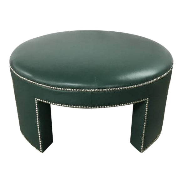 Century Furniture Durant Large Ottoman For Sale