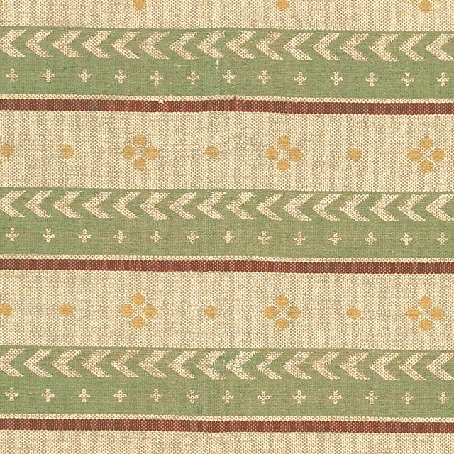"""Mid 20th Century Two-Sided Flat Weave Rug - 5'3"""" X 7'9"""" For Sale In New York - Image 6 of 7"""
