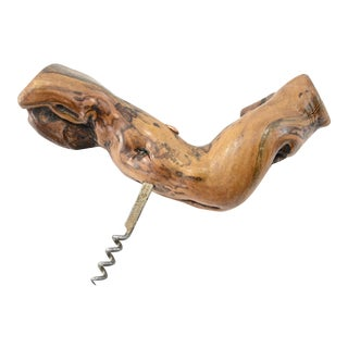 Laurent Siret Rochefort Grapevine Corkscrew For Sale