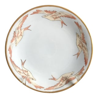 Early 20th C. Hand Painted Plate