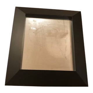 Pottery Barn Teen Black Wall Mirror For Sale
