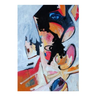 Original Abstract Figurative Oil Painting