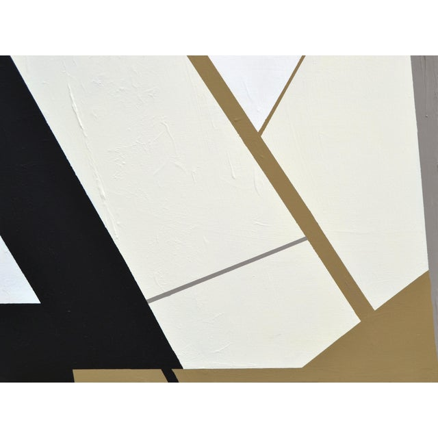 Canvas Monumental Abstract Painting in Acrylic on Canvas by Yamil O Cardenas For Sale - Image 7 of 13
