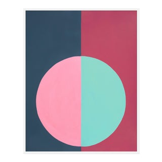 "Large ""Pink and Blue Forever"" Print by Stephanie Henderson, 41"" X 51"" For Sale"
