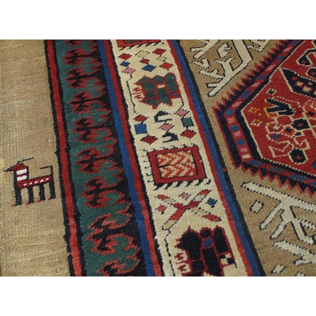 Late 19th Century Antique Serab Long Rug For Sale - Image 5 of 8