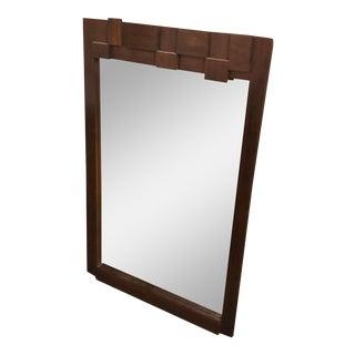 1970s Brutalist Paul Evans for Lane Furniture Mosaic Dresser Mirror