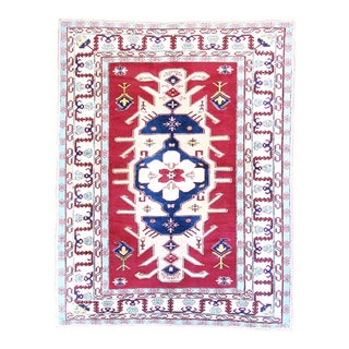 Vintage Central Anatolian 'Yoruk' Turkish Area Rug-6'6'' X 8'2'' For Sale