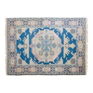 Vintage Dilaver Turkish Shiravan Rug - 5′7″ × 7′11″