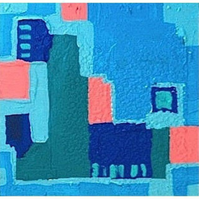 'LiNCOLN ROAD' Original Abstract Painting - Image 1 of 5