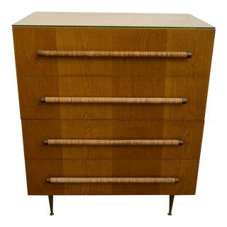 Mid Century Modern Robsjohn Gibbings for Widdicomb Tall Dresser For Sale