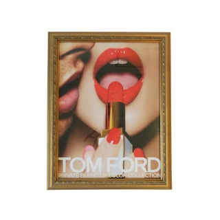 Tom Ford Framed Makeup Print Advertisement Wall Art For Sale