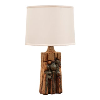 Bernard Rooke Ceramic Table Lamp, England, 1970s For Sale