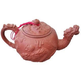 Yxing Red Clay Teapot